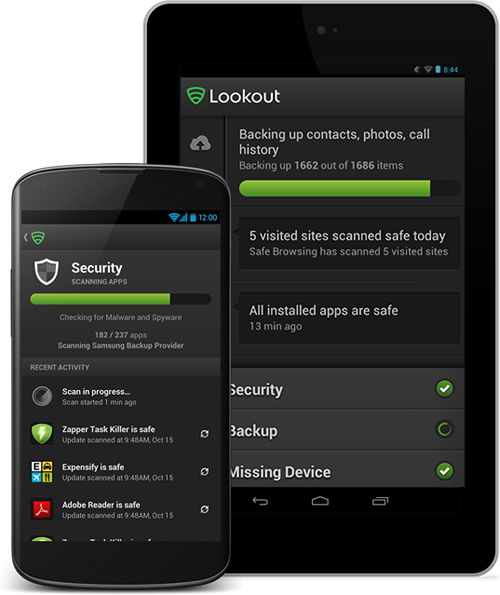 Lookout – Security App