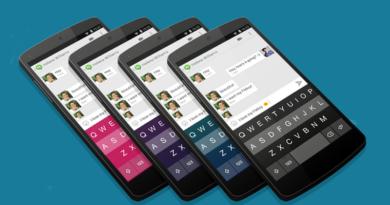 Fleksy Keyboard App