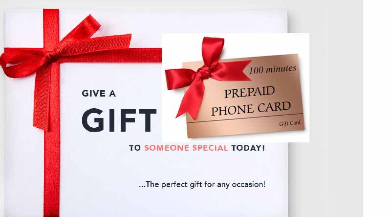 IDD Gift Phonecards
