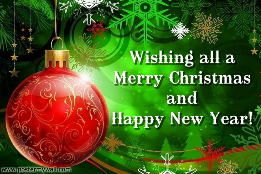 Christmas and New Year Greeting Cards