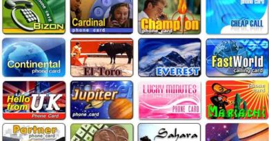 International phone cards