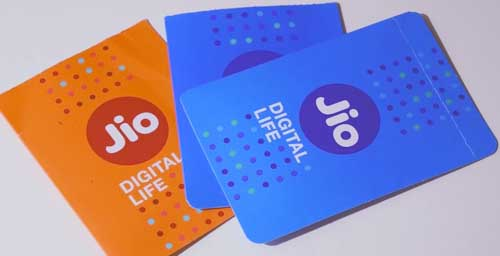 Jio SIM card