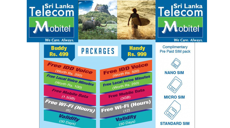 Tourist Cellphone Packages